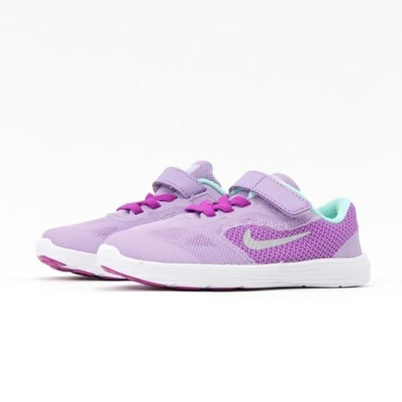 Nike revolution 3 toddler girl shoes size 8c